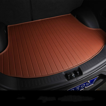 Custom special car trunk mats for Jaguar XF XEL XJL XF F-PACE F-TYPE waterproof durable cargo rugs carpets