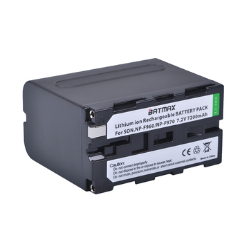 High Capacity 3Packs 7.2V 7200mAh NP-F960 NP-F970 NP F970 NP F960 Camcorder Batteries for Sony NP-F550 F770 F750 F960 F970