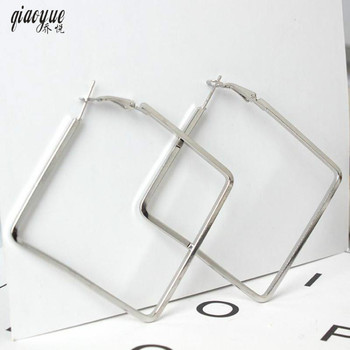 Europe and the United States jewelry fashion personality exaggerated nightclub square earrings Earrings For Women Oorbellen