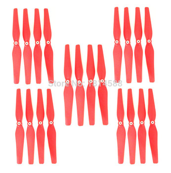New 5 sets syma X8 X8C X8W X8G quadrocopter red remote control airplane propeller fan blade main blade X8C-05-06
