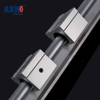 2018 Sale Axk Cnc Router Parts Axk 12mm Linear Rail Sbr12 L 400mm Support Rails 2 Pcs + 4 Sbr12uu Blocks For Cnc For Shaft