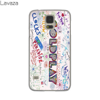 Lavaza Coldplay John Martin Hard Case Cover for Samsung Galaxy S8 S9 Plus S3 S4 S5 & Mini S7 Krašto S6 Krašto Plius