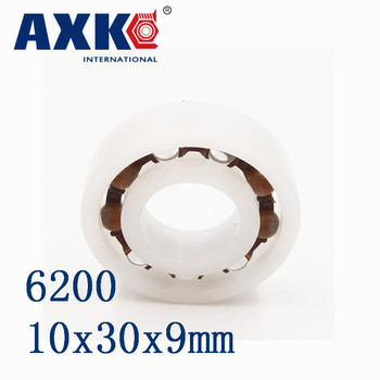 2018 Direct Selling Time-limited Rodamientos Axk 6200 Pom (10pcs) Plastic Ball Bearings 10x30x9mm Glass Balls 10mm/30mm/9mm