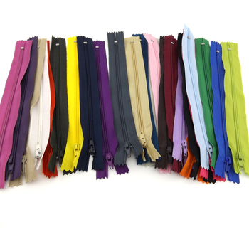 100pcs 20cm Length Nylon Coil Zippers Tailor Garment Sewing Accessories