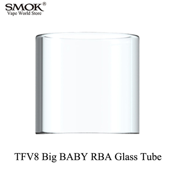 Electronic Cigarette SMOK TFV8 BIG BABY RBA Glass Tube Vape G150 G320 G-Priv GX2/4 Stick V8 Big Baby RBA Atomizer Tube S041