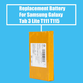 Retail 1PC Replacement Battery 3800mah For Samsung Galaxy Tab 3 Lite T110 T111 T115